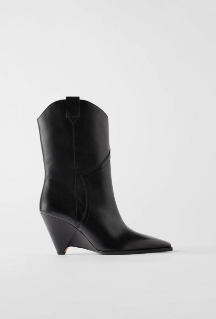 Zara LeatherFauxDetail