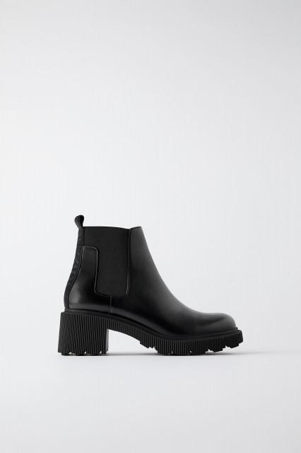 Zara Lug Sole Boots