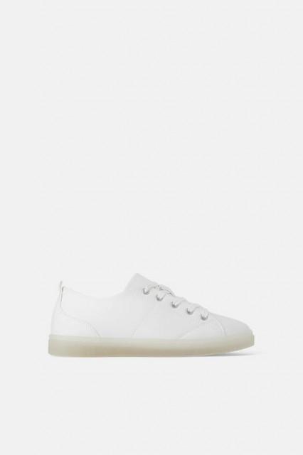 Zara PlainSoleSneaker