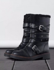 Bershka MountainFurBoots