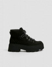 Pull&Bear BlackTrackBoots