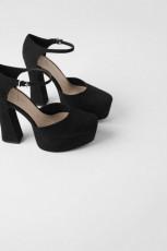 Zara DarkPlatformShoes
