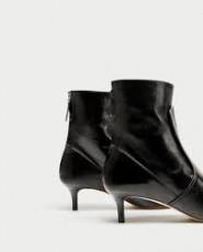 Zara LeatherAnkleShoe