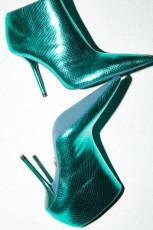 Zara MetallicAnkleBoots