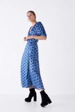 Zara Platform Heels Botin Zip