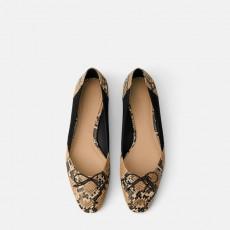 Zara PrintedFlatShoes