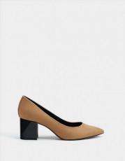 Bershka Suede Maron Shoes