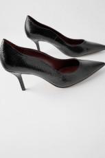Zara CrocHeelShoes