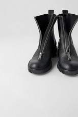 Zara Front Zipper Boots