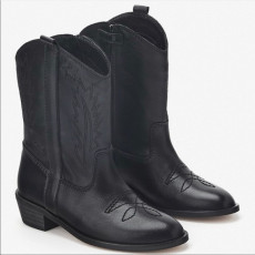 Zara BlackCowboyBoots