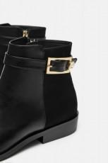 Zara FlatPearlAnkle