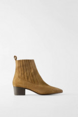 Zara LeatherElasticBoots