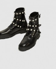 Zara PearlAnkleBoots