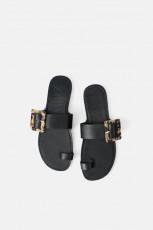 Zara PrintDetailSandals