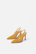 Zara YellowHeelShoes