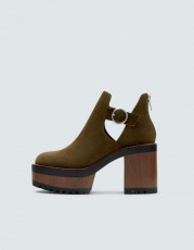 Pull&Bear Open Ankle Green
