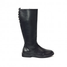 Zara Flat Boots With Pearl