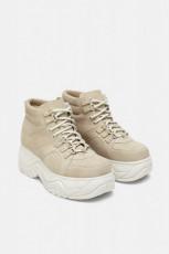Zara GreyPlatformSneaker