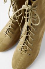 Zara Split Leather Lace