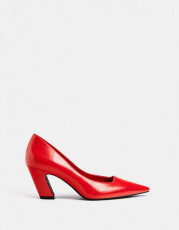 Bershka Rojo Geometric Shoes