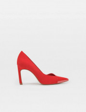 Stradivarius Red Faux Shoes