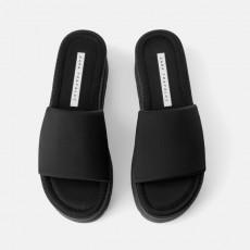 Zara BlackPlatformSandals