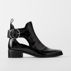 Zara Botin Cut Out