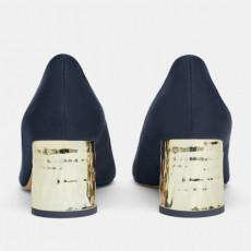 Zara GoldenHeelShoes