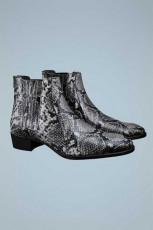 Zara Piton Leather Boots