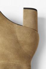 Zara Split Leather Mid Height Boots