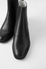 Zara Contrast Low Heel