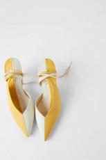 Zara DualColourLeatherShoes