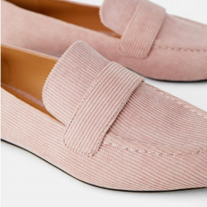 Zara FlatBlushShoes