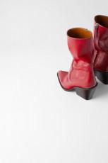 Zara Redish Cowboy Boots