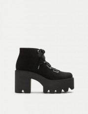 Pull&Bear PlatformBlackShoes