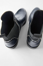 Zara Ankle Boots With Studs