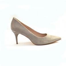 Zara GreyMidHeelShoes