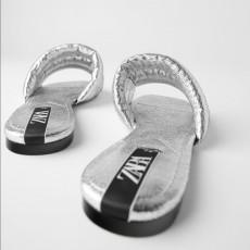 Zara SilverSandals