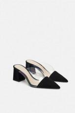Zara VinylHeeledShoes