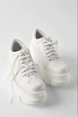 Zara WhitePlatformSneakers