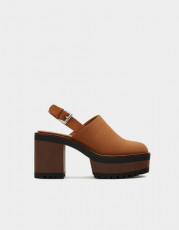 Pull&Bear Track Sole Platform Shoes