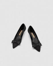Zara BowStilettoShoes