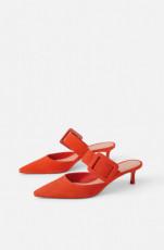 Zara CoralMulesShoes