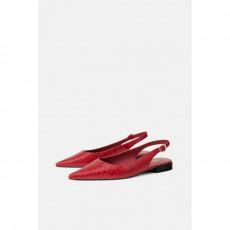 Zara RedFlatSlingback