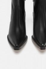 Zara Wedge Cowboy Boots