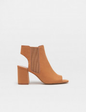 Stradivarius Maron Open Sandals