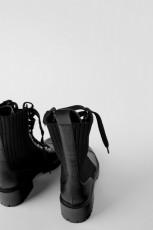 Zara ContrastAnkleBoots