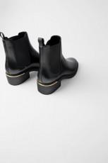 Zara Flat Ankle Heel Detail