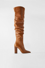Zara Leather Over Knees