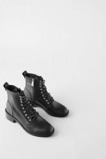 Zara Moto Ankle Boots